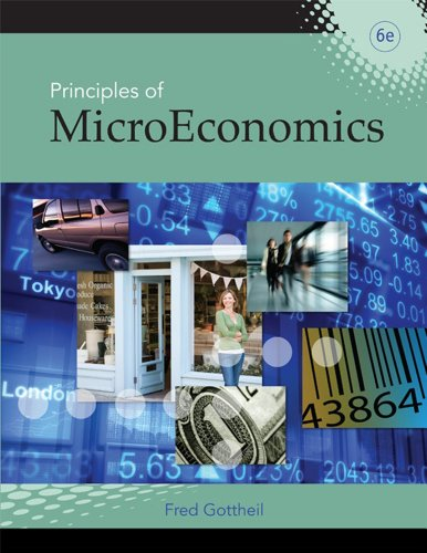 Principles of Microeconomics  6th 2010 edition cover