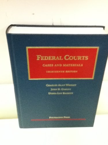Federal Courts  13th 2012 (Revised) edition cover