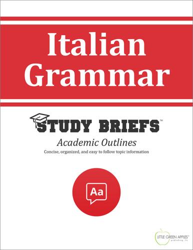 Italian Grammar cover
