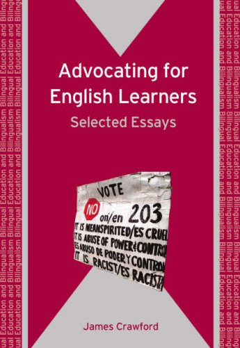 Advocating for English Learners Selected Essays  2008 edition cover
