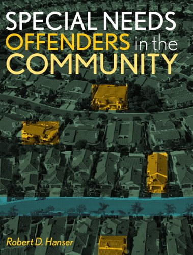 Special Needs Offenders in the Community   2007 edition cover