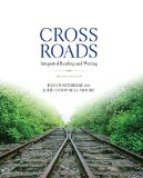 Crossroads Integrated Reading and Writing Plus MySkillsLab with Pearson EText -- Access Card Package 2nd 2015 9780133957723 Front Cover