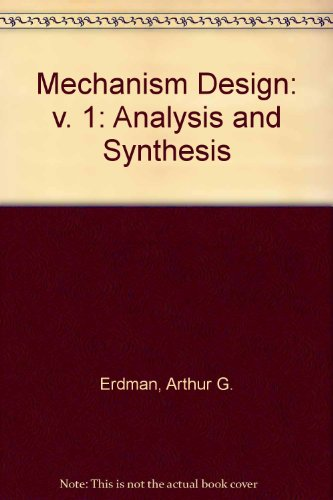 Mechanism Design Analysis and Synthesis 2nd edition cover