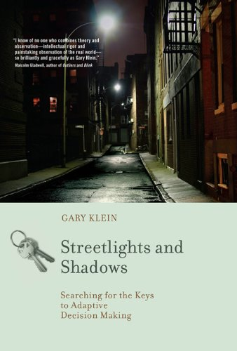 Streetlights and Shadows Searching for the Keys to Adaptive Decision Making  2011 edition cover