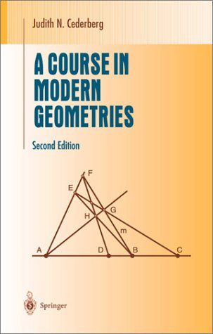Course in Modern Geometries  2nd 2001 (Revised) edition cover