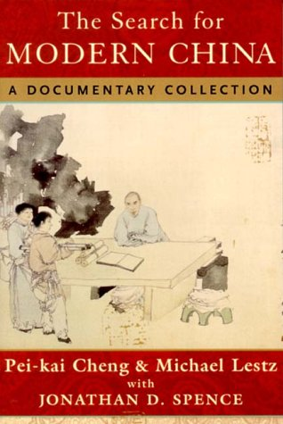 Search for Modern China A Documentary Collection  1999 edition cover