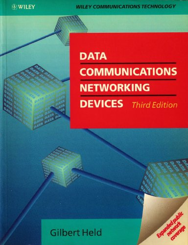 Data Communications Networking  3rd 1992 9780471930723 Front Cover