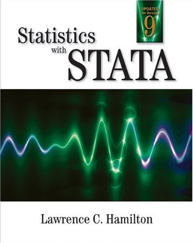 Statistics with STATA Updated for Version 9 6th 2006 (Revised) edition cover