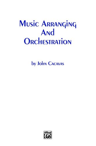 Music Arranging and Orchestration   1985 edition cover