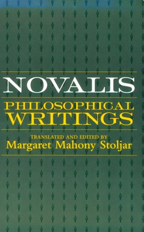 Novalis Philosophical Writings N/A edition cover