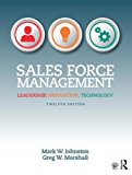 Sales Force Management: Leadership, Innovation, Technology  2016 9781138951723 Front Cover