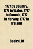 1777 by Country 1777 in Wales, 1777 in Canada, 1777 in Norway, 1777 in Ireland N/A edition cover