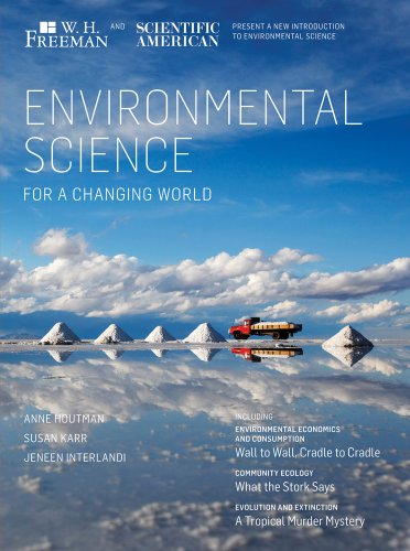 Scientific American Environmental Science for a Changing World   2013 edition cover