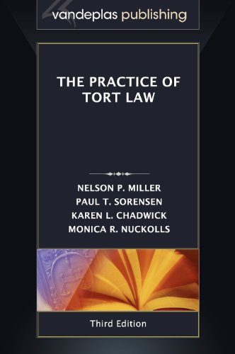 Practice of Tort Law   2012 edition cover