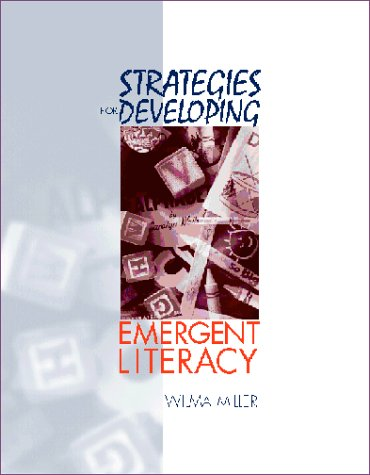 Strategies for Developing Emergent Literacy   2000 edition cover