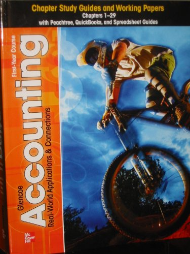 Glencoe Accounting, Grades 9-12: Chapter 1-29  2011 9780078958724 Front Cover