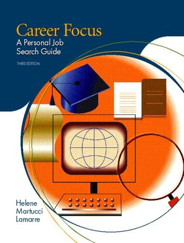 Career Focus A Personal Job Search Guide 3rd 2006 edition cover