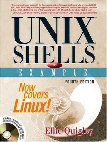 UNIX� Shells by Example  4th 2005 (Revised) edition cover