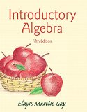 Introductory Algebra  5th 2016 edition cover