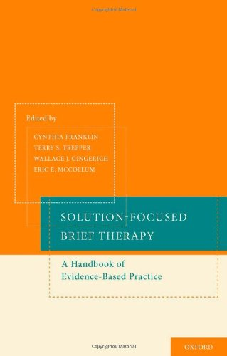 Solution-Focused Brief Therapy A Handbook of Evidence-Based Practice  2012 edition cover