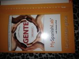 MySpanishLab with Pearson EText -- Access Card -- for Gente Nivel B�sico (one Semester Access) 3rd 2012 edition cover