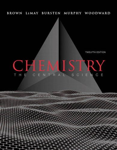 Chemistry The Central Science 12th 2012 9780321696724 Front Cover