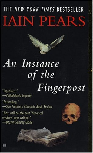 Instance of the Fingerpost   1998 (Reprint) edition cover