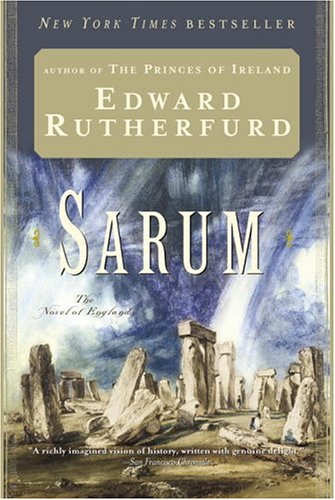Sarum The Novel of England  1987 edition cover