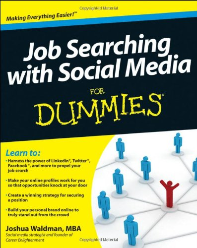 Job Searching with Social Media for Dummies   2011 9780470930724 Front Cover