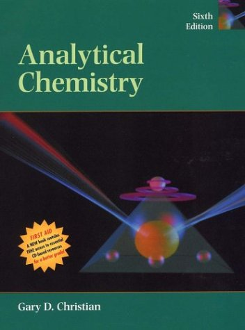 Analytical Chemistry  6th 2004 (Revised) edition cover