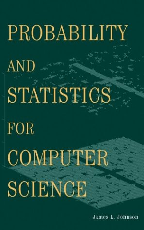 Probability and Statistics for Computer Science   2003 9780471326724 Front Cover