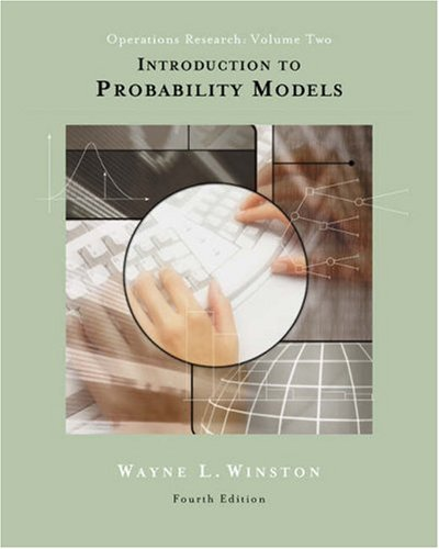 Introduction to Probability Models Operations Research 4th 2004 (Revised) edition cover