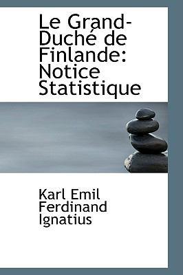 Le Grand-duche De Finlande: Notice Statistique  2008 edition cover