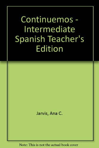 Continuemos!  Teachers Edition, Instructors Manual, etc.  9780618220724 Front Cover