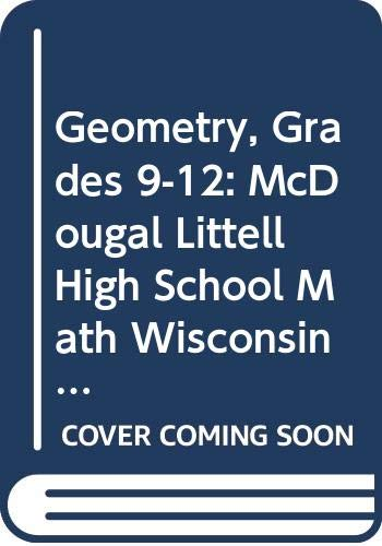 Holt Mcdougal Larson Geometry Student Edition Geometry 2008  2007 9780618923724 Front Cover