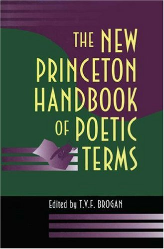 New Princeton Handbook of Poetic Terms   1994 edition cover
