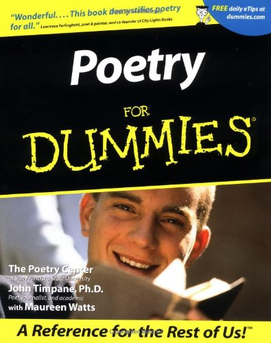 Poetry for Dummies   2001 edition cover