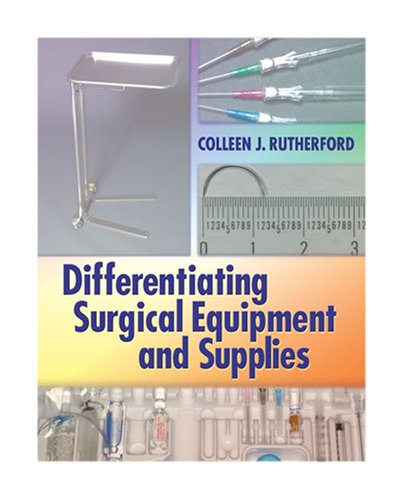 Differentiating Surgical Equipment and Supplies   2010 edition cover