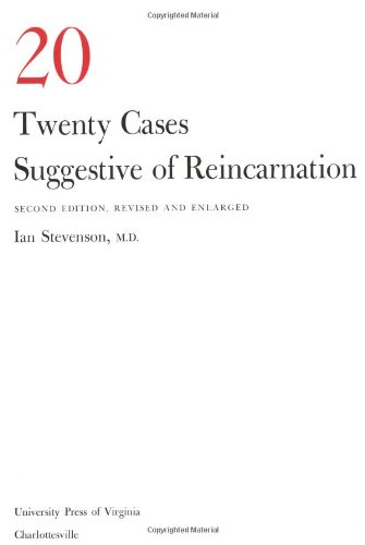 Twenty Cases Suggestive of Reincarnation  2nd edition cover