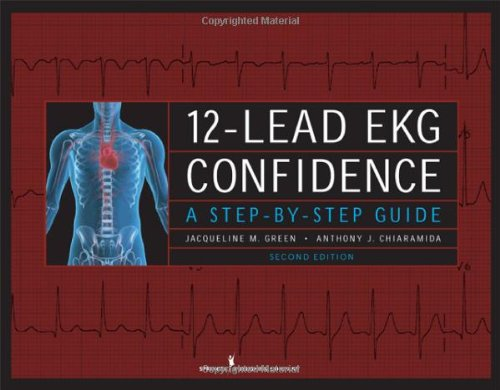 12-Lead EKG Confidence  2nd 2009 edition cover