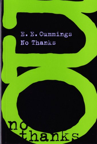 No Thanks   1998 (Reprint) 9780871401724 Front Cover