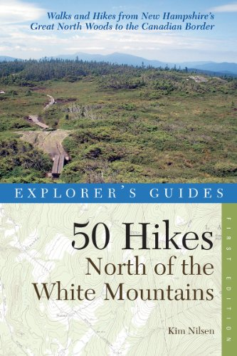 50 Hikes North of the White Mountains  N/A 9780881509724 Front Cover