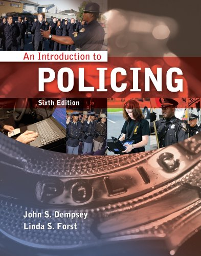 Introduction to Policing  6th 2012 edition cover