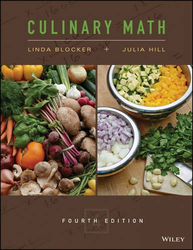 Culinary Math  4th 2016 9781118972724 Front Cover