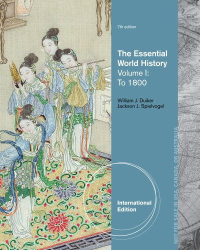 Essential World History - To 1800  7th 2014 edition cover
