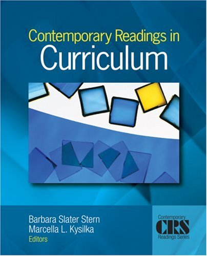 Contemporary Readings in Curriculum   2008 edition cover