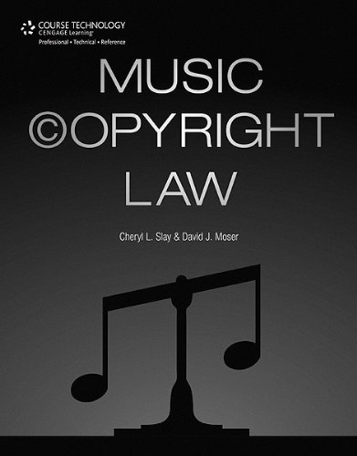 Music Copyright Law   2012 edition cover