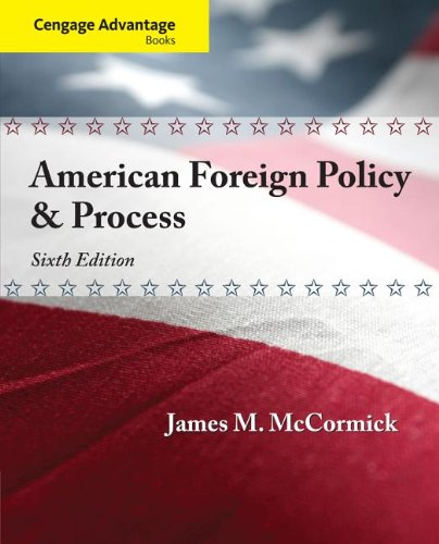 American Foreign Policy and Process:   2013 edition cover