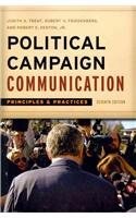 Political Campaign Communication Principles and Practices 7th 2011 edition cover