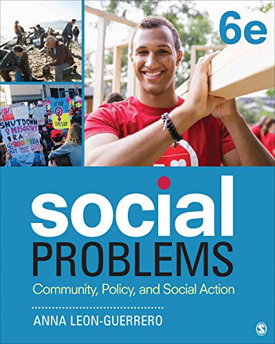 Social Problems: Community, Policy, and Social Action  2018 9781506362724 Front Cover